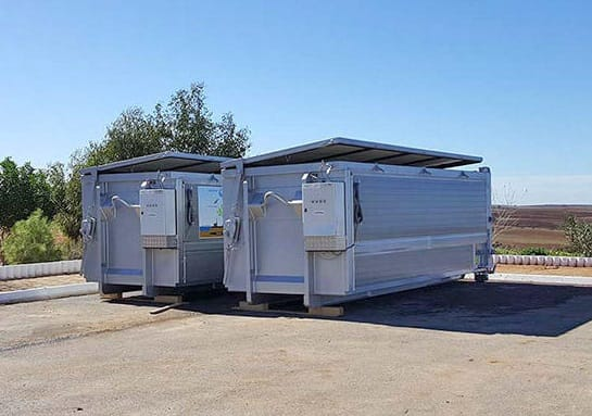 hygienizacni jednotka bioodpady gastroodpady