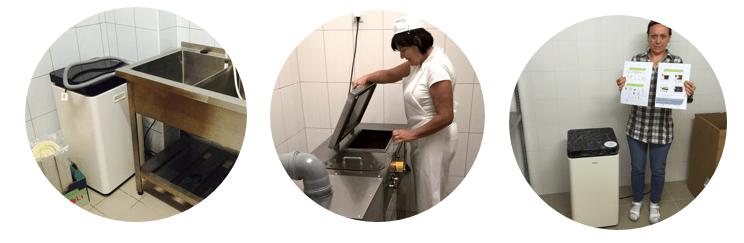 elektrické kompostery GreenGood na gastroodpady
