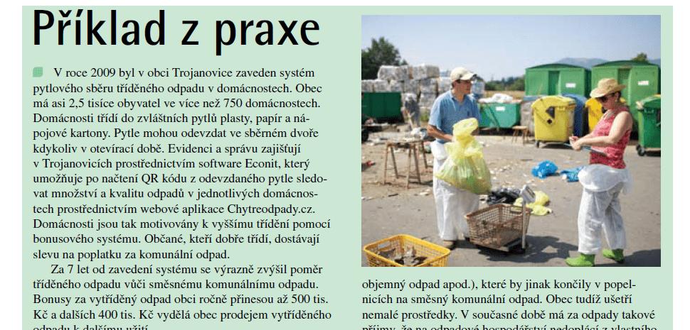 evidencni system odpadu econit