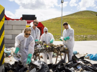 analyza odpadu unetice