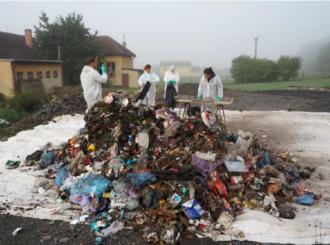 JRK a INCIEN analýza odpadu