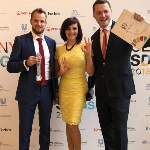 Robin Dufek, Nina Oravcová a Mojmír Jiříkovský