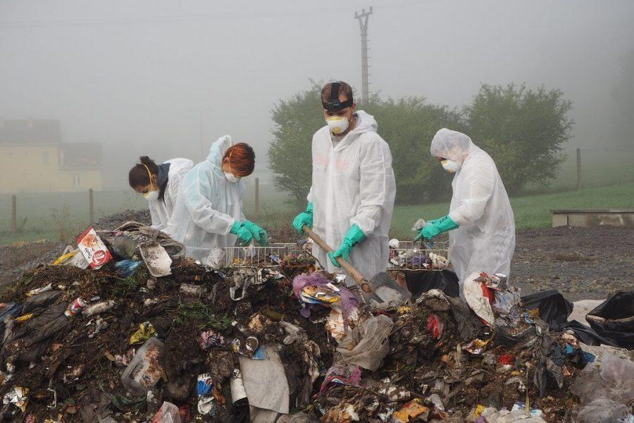 Fyzická analýza odpadu