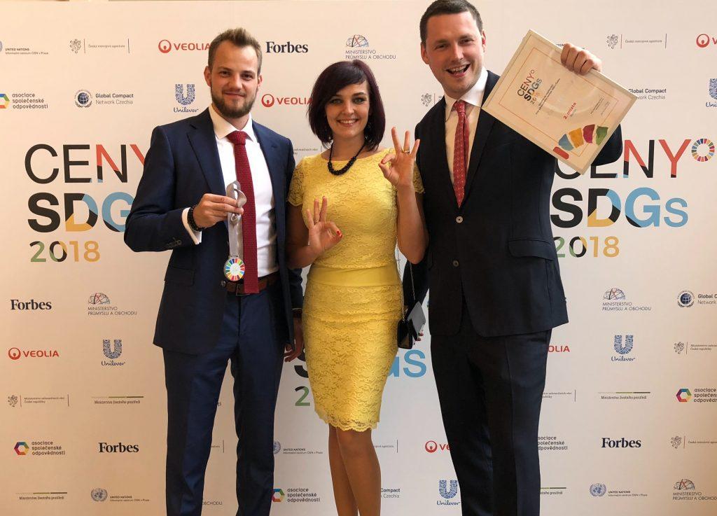 Robin Dufek, Nina Oravcová a Mojmír Jiřikovský