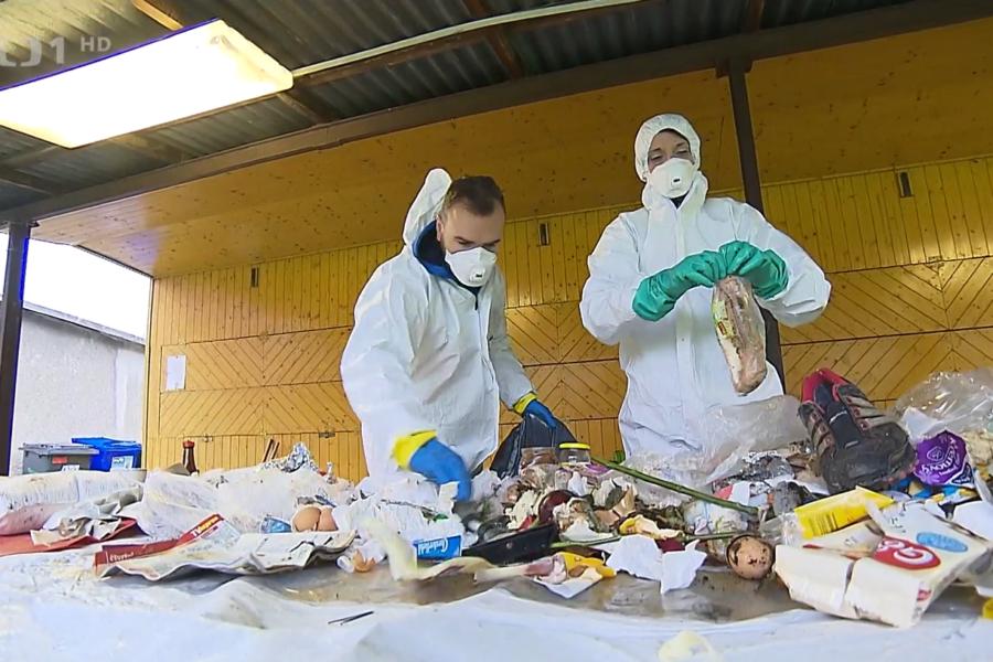 Fyzická analýza odpadu v obci Pržno JRK