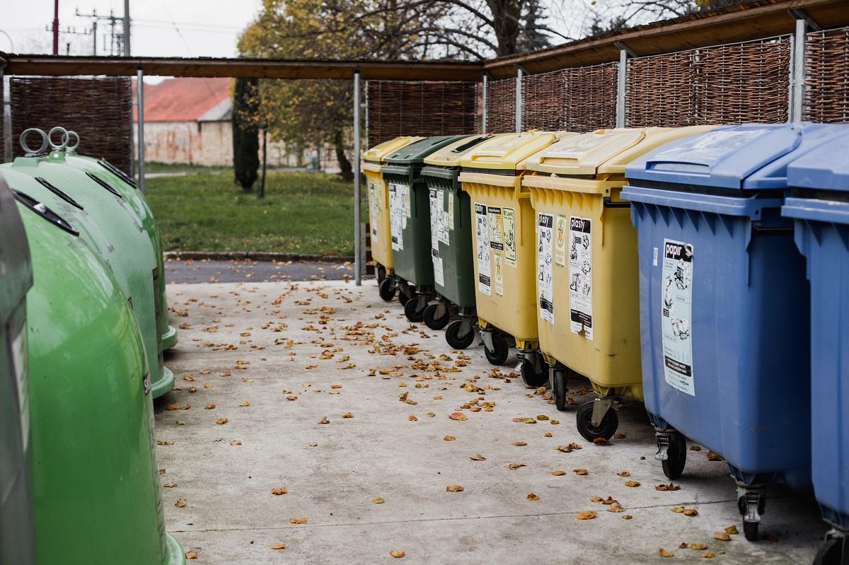 Trideni odpadu evidence qr kody