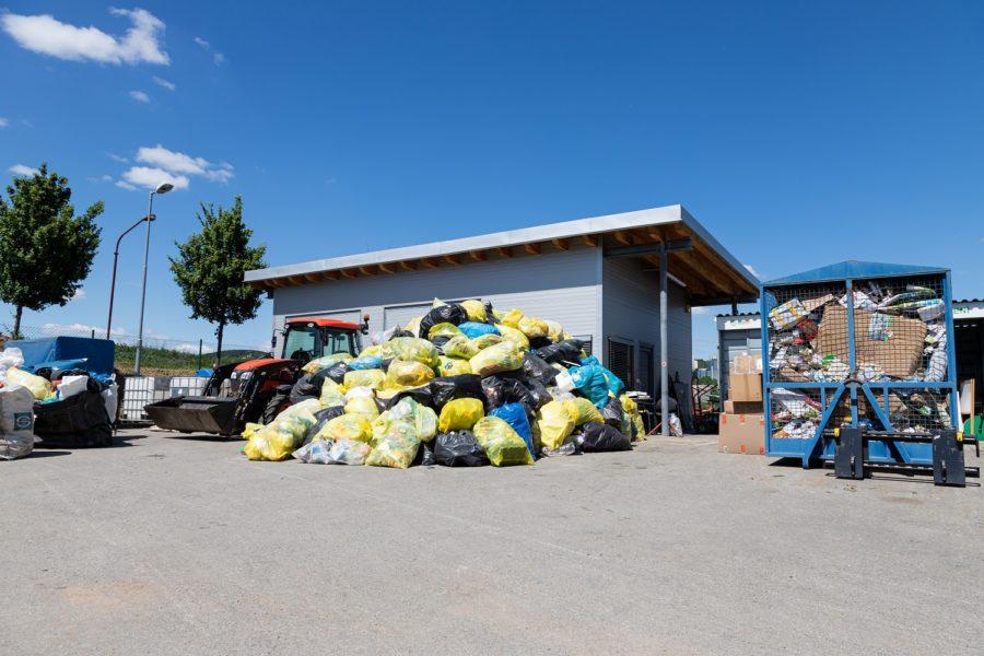 Ostopovice - evidence odpadů