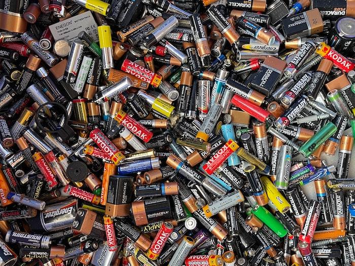 staré baterie